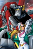 Voltron Breaks Out by comicbookboo