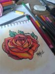 Red Rose by xXBlackXxXRavenXx