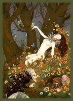 Titania Wakes by bluefooted