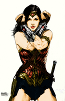 Wonder Woman (Gal Gadot) Classic color by Alexbadass