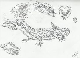 My take on Glaurung by devilkais