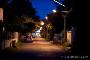 Dark alley by frankrizzo