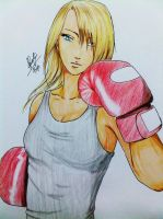 Boxing Girl by negely