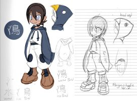 Penguin Hoody Consept 2 by rongs1234