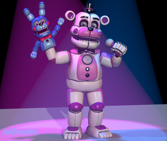 Funtime Freddy V5 by jorjimodels