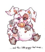 the fourth piggy by Quilsnap