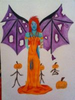 Pumpkin Fairy by Kealda