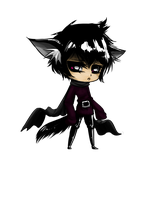 Chibi: new style test by Saige199