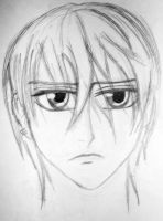 Zero-Vampire Knight-Old Sketch by Medicated-Kitty