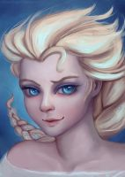 Elsa Portrait by thirteenthangel
