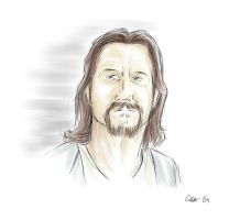 The Dude - colour by Professor-Irony