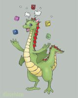 Puff the Magic Dragon by DieuChien