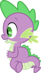 Whatcha Looking at Spike? by Exbibyte