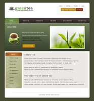 greentea site design by LiDiL