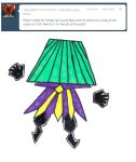 ASPM: Dimentio has a lampshade by MetaKnightRoxMySox