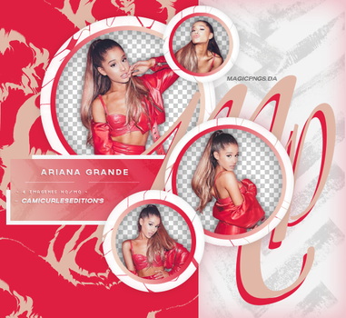 PACK PNG 639| ARIANA GRANDE by MAGIC-PNGS