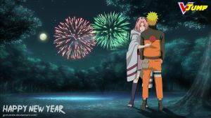 Happy New Year Naruto by goriverde