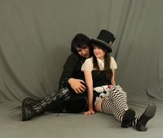 Dark alice and Mad hatter 5 by MajesticStock