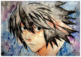 L. Lawliet by TioUsui