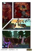 LoL Comic Contest: Ziggs by FarahBoom