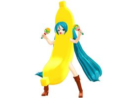 Miku Banana - Download by YamiSweet
