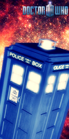 Doctor Who / Tardis Bookmark by Regineteen