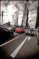 Berlin - Red light by mjagiellicz