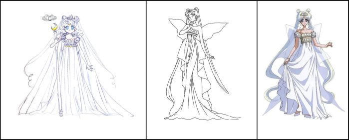 Neo Queen Serenity (Manga and Anime's Designs) by Moon-Shadow-1985