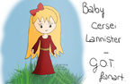 Chibi baby Cersei Lannister by aranellenolwe