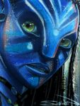 Avatar Neytiri Sketch Card 3 by RandySiplon