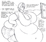 The Fat Roommate by Saxxon