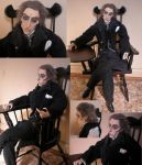 Professor Moriarty OOAK Art Doll by Lufirel