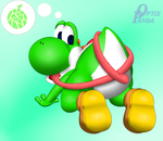 Yoshi:  Licky Licky~ by OptixPanda
