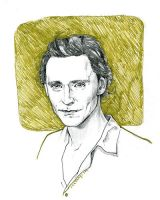 Tom Hiddleston by sumeragisama