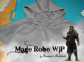 Stage 9: Mage Robe WIP by Bunneahmunkeah