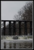 Falls at the Old Mill by kessalia