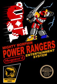 8- bit Power Rangers by wildwing64