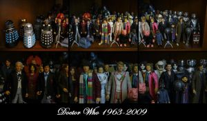 Doctor Who 1963-2009 by Police-Box-Traveler