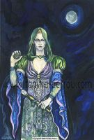Wiccan Priestess. by fanitsafantasy