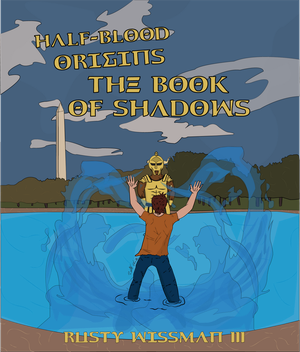 HalfBlood Origins: The Book of Shadows Cover Art