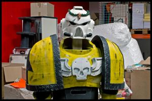 Imperial Fist Upper by ArmorCorpCustoms
