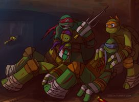 TMNT: Injured by loolaa