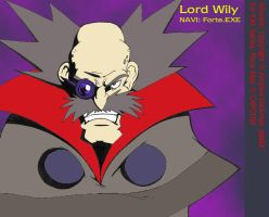 Dr. Wily by AndrewDickman