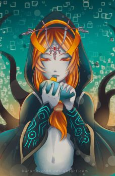 -- Zelda Fan-club Exchange: Midna -- by Kurama-chan