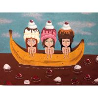 Banana boat by teenuhhh