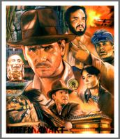 Indiana Jones Raiders by choffman36