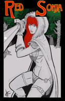 Red Sonja by JustinCoffee