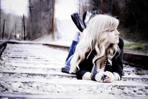 Train Tracks with Leanne by angelsfalldown1