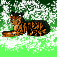 Tiger Number Two by qrayson