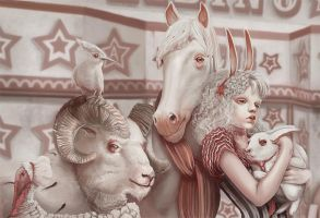albino circus by dr-kelso